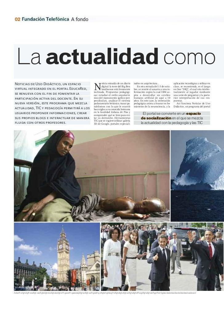 02                                                     A fondo  La actualidad comoNoticias de Uso Didáctico, un espacio   ...