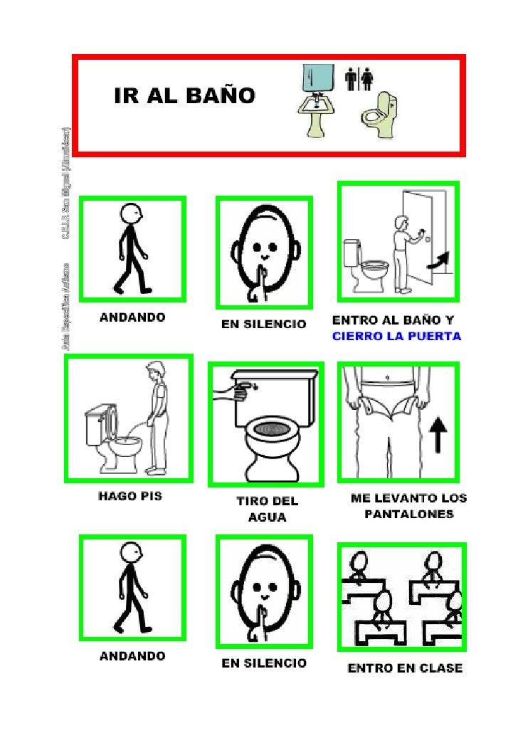 Ir Al Baño Los Ninos:Secuencia ir al baño