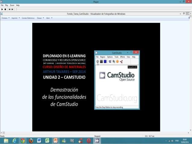 Fwle F45¡ Zoom Hdp P I Il II  Player  Fondojareajamstuduo r Hsua zador de Fozograñas do Vmdoxvs  DIPLOMADO EN E-LEARNING  ...