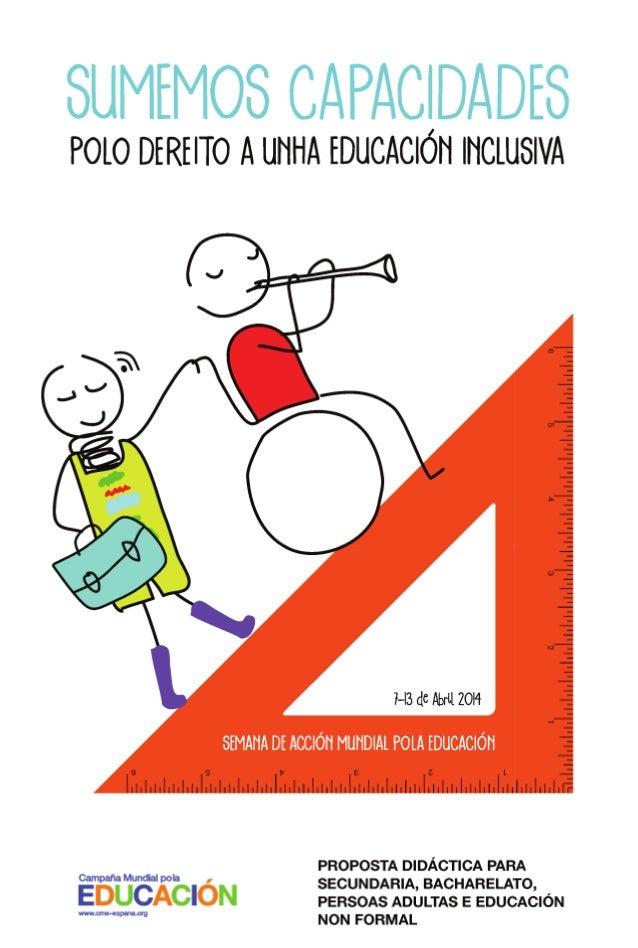 Introdución  1  Obxectivo xeral da Semana de Acción Mundial pola Educación Obxectivos xerais da proposta didáctica Conside...