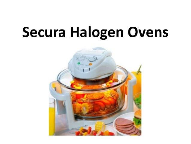 Secura Halogen Ovens