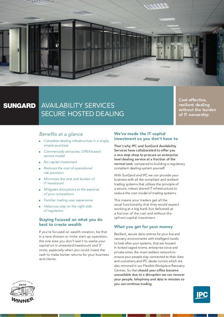 SunGard Secure Hosted Dealing