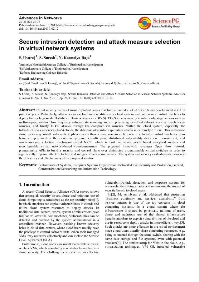 Advances in Networks2013; 1(2): 26-33Published online June 10, 2013 (http://www.sciencepublishinggroup.com/j/net)doi: 10.1...