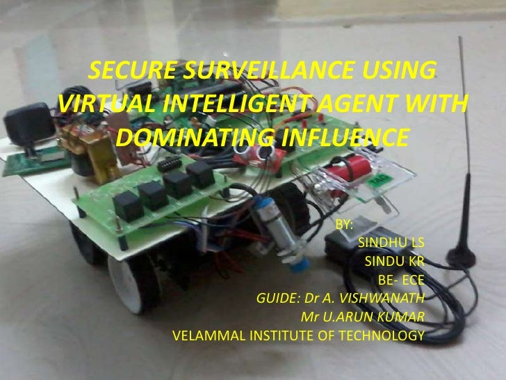 SECURE SURVEILLANCE USINGVIRTUAL INTELLIGENT AGENT WITH     DOMINATING INFLUENCE                               BY:        ...