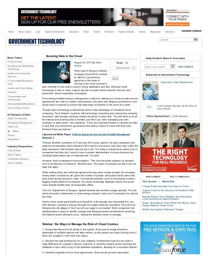 Home         News Topics    Jobs     Digital Communities     Education     Video     Events     Webinars     Papers & Book...