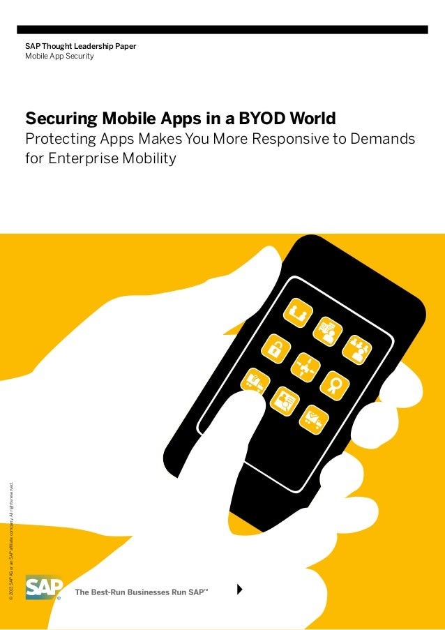 Securing mobile apps in a BYOD world