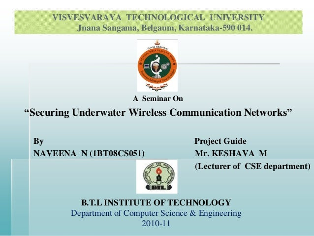 """Securing underwater wireless communication networks"" 2"
