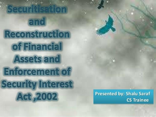 Presented by: Shalu Saraf CS Trainee 1
