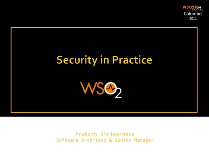 Security in Practice