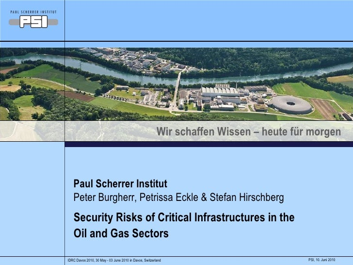 Security Risks of Critical Infrastructures in the Oil and Gas Sectors