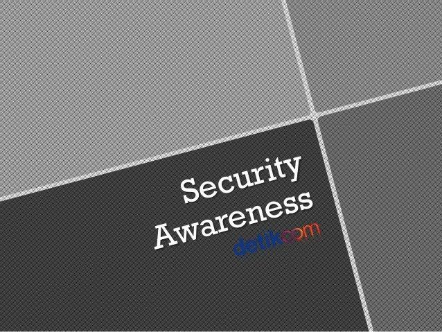 Security awareness rgesit