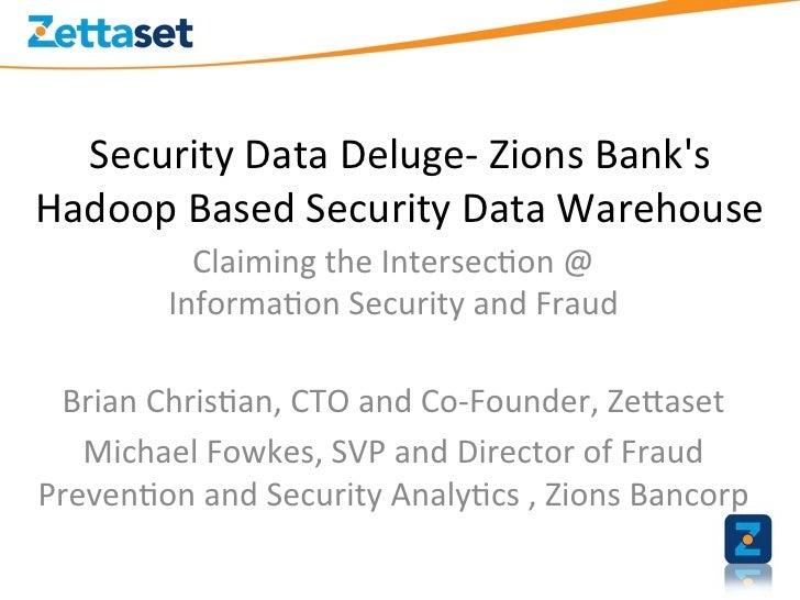 Security data deluge