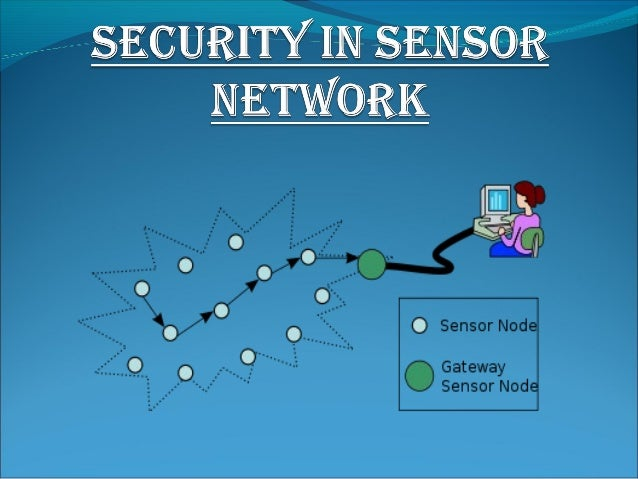 Security in sensor network1