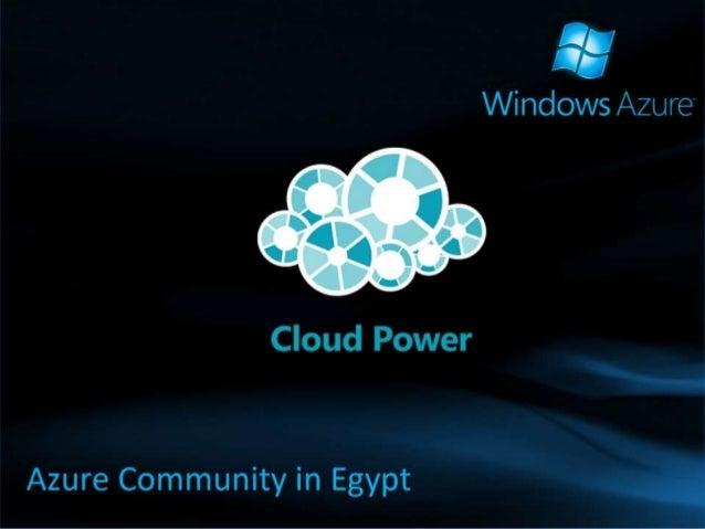 Security on Windows Azure