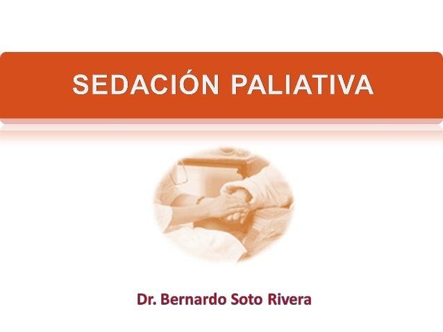 Sedación paliativa