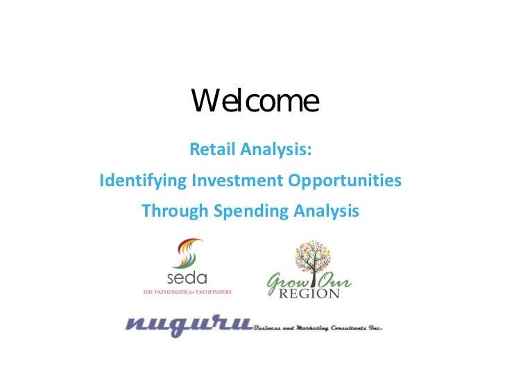 Retail Analysis: Identifying Opportunities Through Spending Analysis