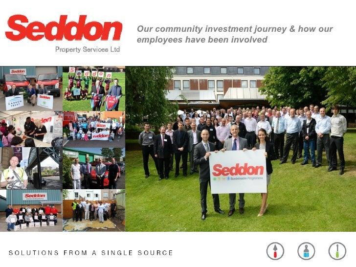 Seddon Group presentation at BITC Member Event 16 May 2012