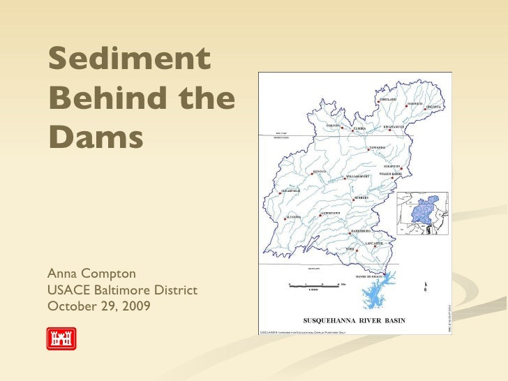 Sediment Behind The Dams Army Corps Of Engineers