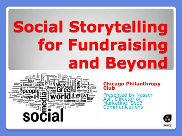 See3 Chicago Philanthropy Club: Social Media Storytelling for Nonprofits