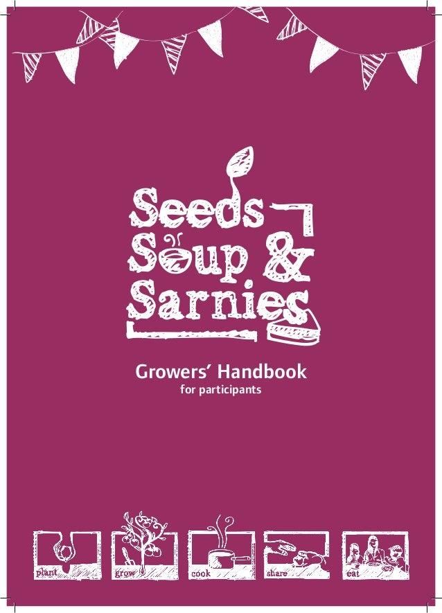 Community garden leaders' handbook