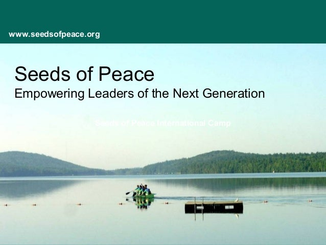 Seeds of Peace presentation