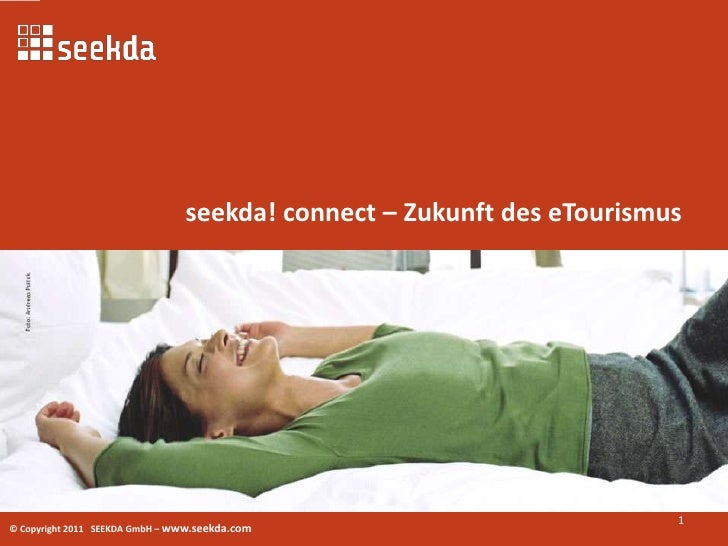 seekda! connect – Zukunft des eTourismus<br />1<br />
