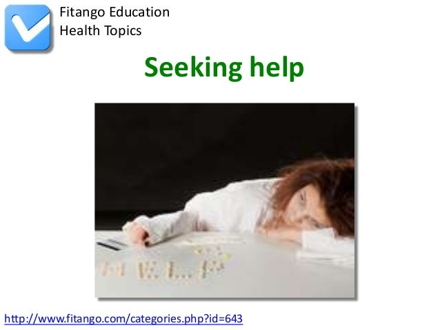 http://www.fitango.com/categories.php?id=643Fitango EducationHealth TopicsSeeking help