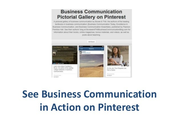 See Business Communication in Action on Pinterest