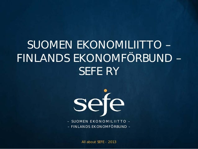 SEFE info