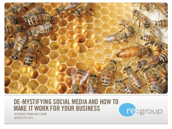 De-Mystifying Social Media For Franchise