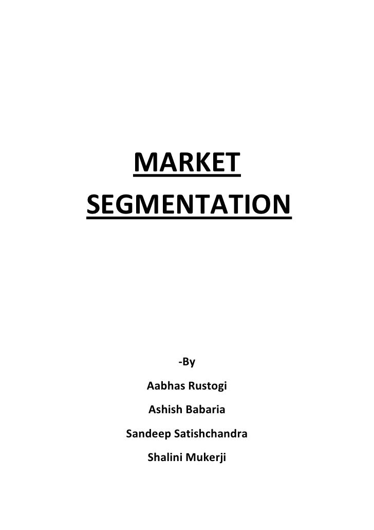 market segmentation for café de coral There are 4 different types of market segmentation and all of them vary in their implementation a manager can use any one of the four types of segmentation.