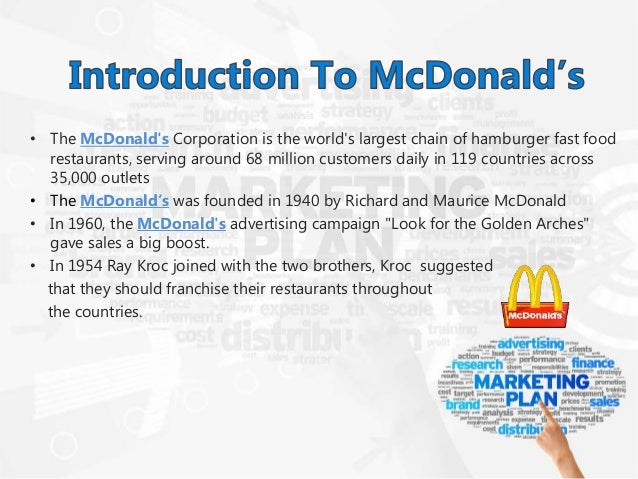 mcdonald s target segmentation Choose an advertisement of your choice and write your comments according to the following guidelines: 1 what is the main message of the advertisement (20 marks) the.