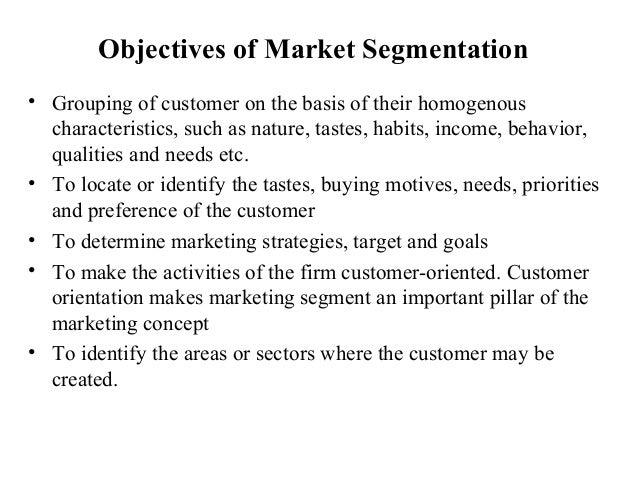consumer market segmentation pdf free
