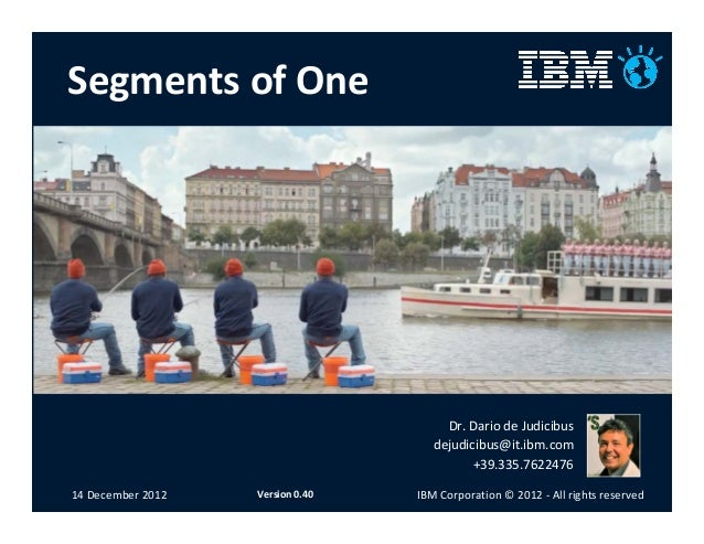 Segments of one: the new consumer in the mobile era