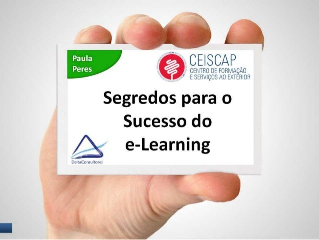 Segredos para o Sucesso do e-Learning