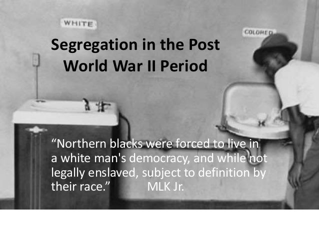 Racial Segregation Essay