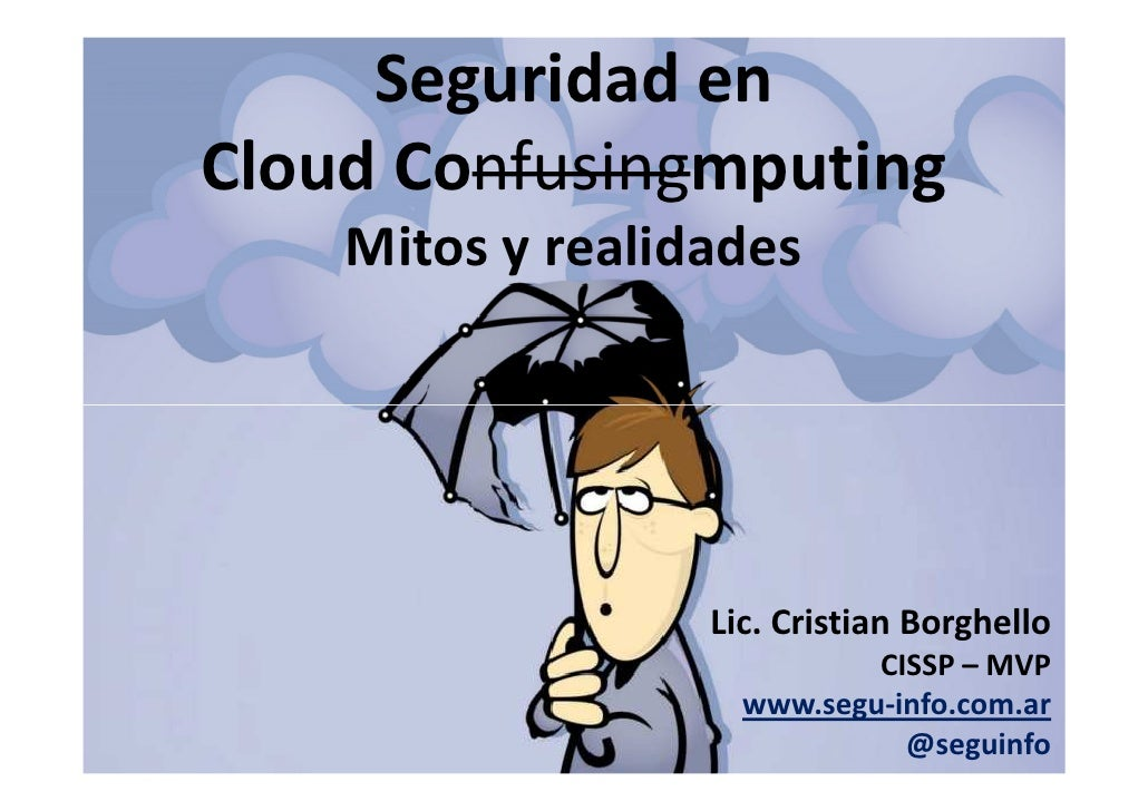 Seguridad en Cloud Computing - Segu-Info