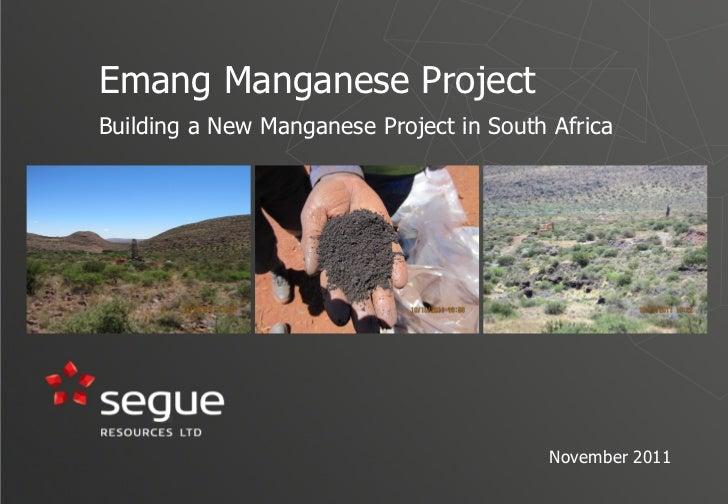 Segue presentation   november 2011
