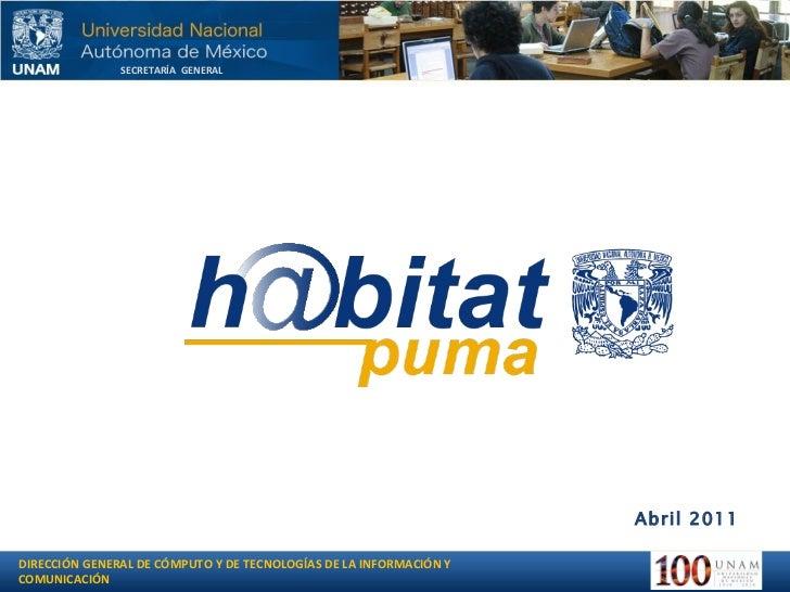 Seguimiento diplomado Habitat-puma