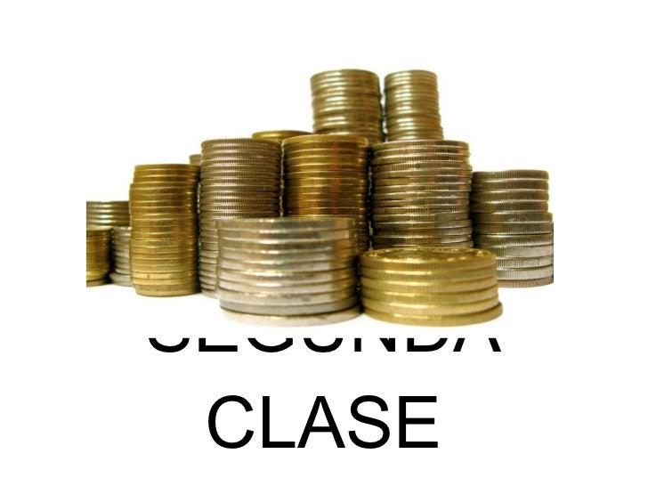 SEGUNDA CLASE