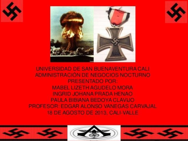 UNIVERSIDAD DE SAN BUENAVENTURA CALI ADMINISTRACIÓN DE NEGOCIOS NOCTURNO PRESENTADO POR: MABEL LIZETH AGUDELO MORA INGRID ...