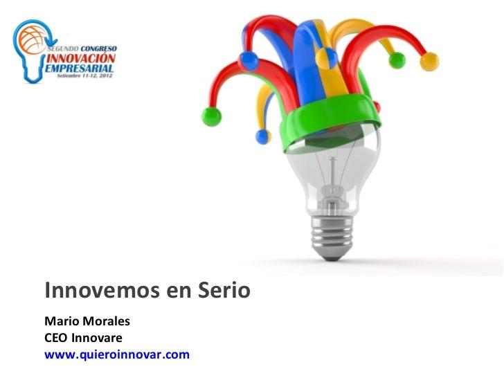 Innovemos en Serio (Consultores en Innovación)
