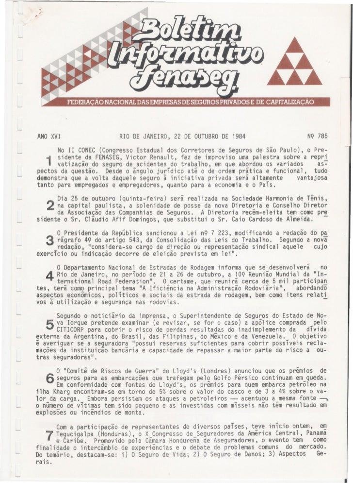 ANOXVI                        RIO DE JANEIRO, 22 DE OUTUBRO 1984                                                          ...