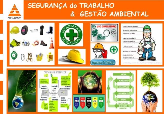 SEGURANÇA do TRABALHO & GESTÃO AMBIENTAL