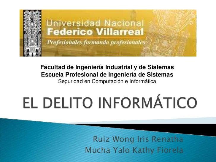 Facultad de Ingeniería Industrial y de Sistemas <br />Escuela Profesional de Ingeniería de Sistemas<br />Seguridad en Comp...