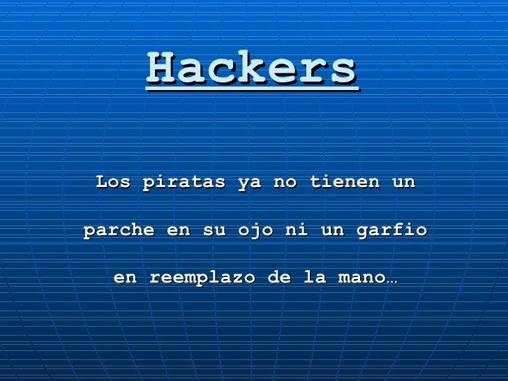 Seguridad Informática: Hackers