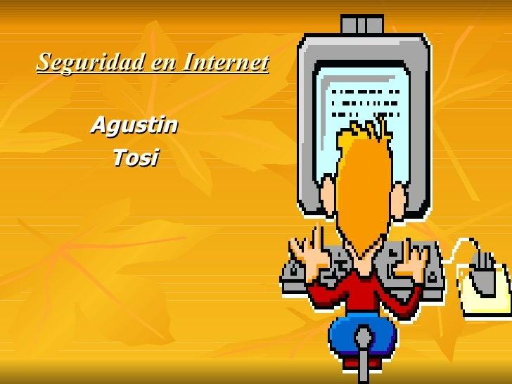Seguridad En Internet AgustíN