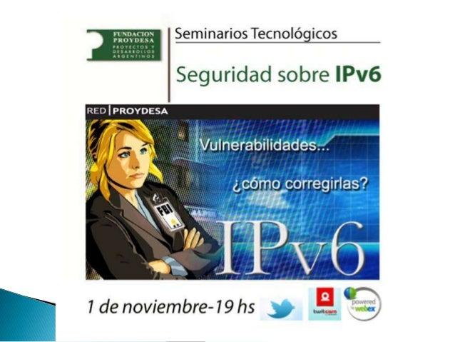 Seguridad en  i pv6 (2)