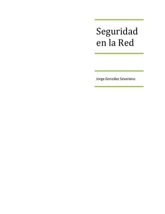 Seguridaden la RedJorge González Severiano