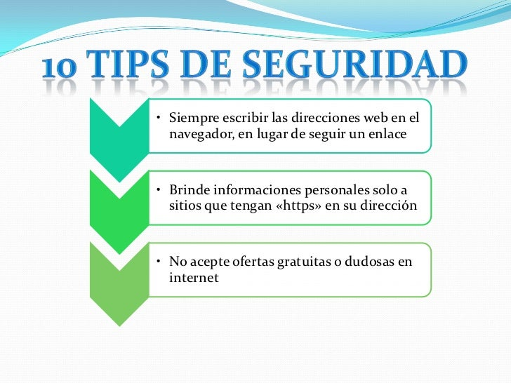 Tips Seguridad Informatica 10 Tips de Seguridad